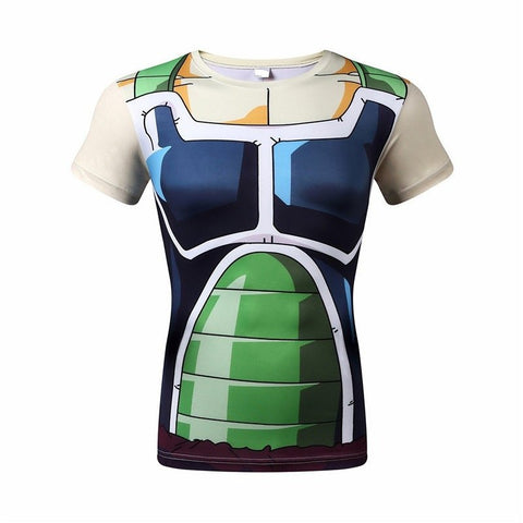 Dragon Ball Z Shirt - Bardock Battle Armor Compression Shirt