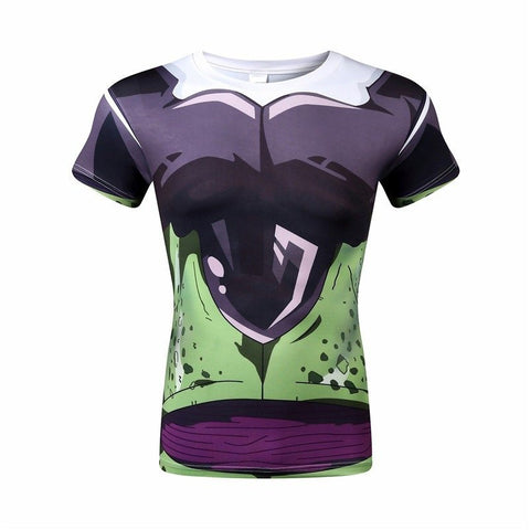 Dragon Ball Z Shirt - Cell Compression Shirt