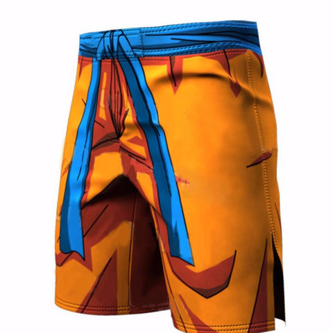 Men's Compression Pants - Goku Compression Shorts