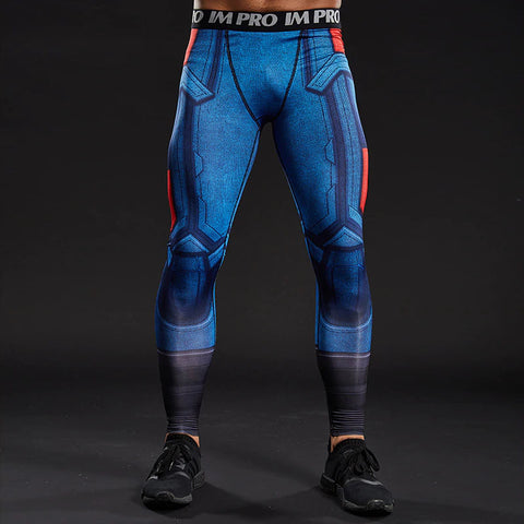 Captain America Dry-Fit Pants