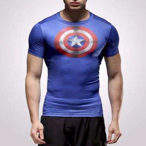 Captain America Dry-Fit Shirt