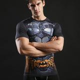 Batman Combat Armor Compression Shirt