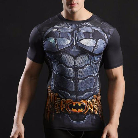 Batman Combat Armor Dry-Fit Shirt