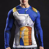 Trunks Battle Torn Armor Long Sleeve Compression Shirt