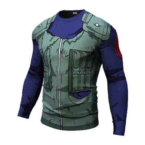 Kakashi Long Sleeve Dry-Fit Shirt