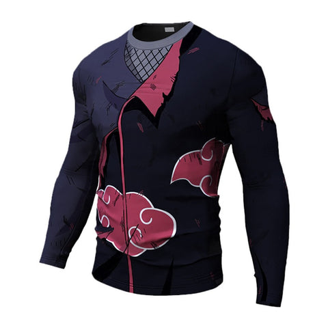 Itachi Long Sleeve Dry-Fit Shirt
