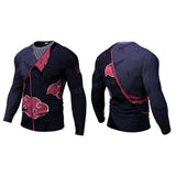 Itachi Long Sleeve Compression Shirt
