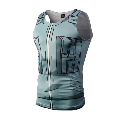 Kakashi Compression Tank Top