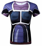 Dark Saiyan Battle Armor Compression Shirt