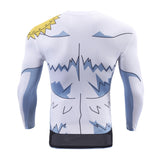 Angemon Long Sleeve Dry-Fit Digimon Shirt