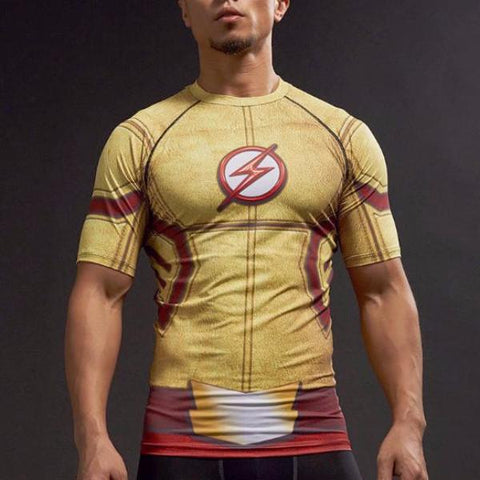 Kid Flash Dry-Fit Compression Shirt
