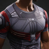 Super Hero Shirt - Falcon Compression Shirt
