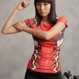 Super Hero Shirt - Iron Man MK46 Women's Compression Tee