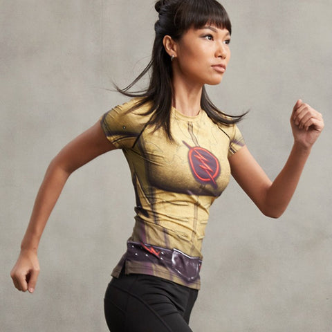 Super Hero Shirt - Reverse Flash Compression Tee