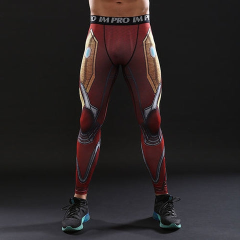 Iron Man Infinity War Dry-Fit Pants