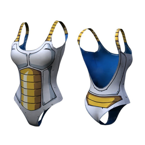 Vegeta Dry-Fit One Piece Swimsuit
