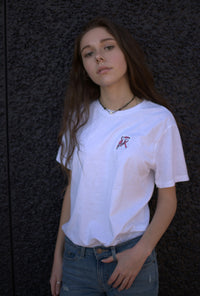 White Breast Cancer Awareness Short Sleeve - Toucanny