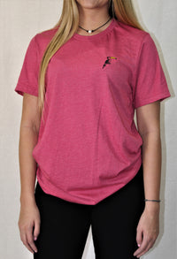 Classic Heather Raspberry Short Sleeve - Toucanny