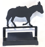 Metal Art - Burro Business Card Holder