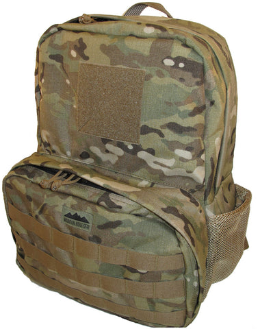 backpack with molle