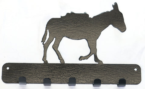 Metal Art - Burro Key Rack