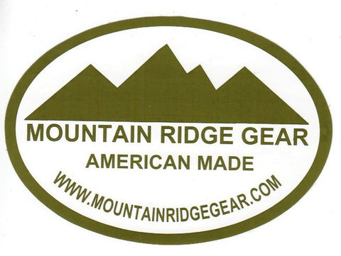Mountain Ridge Gear Sticker