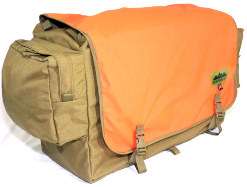 Burro Hunting Pannier with External Pockets- (Set of 2 pannier)