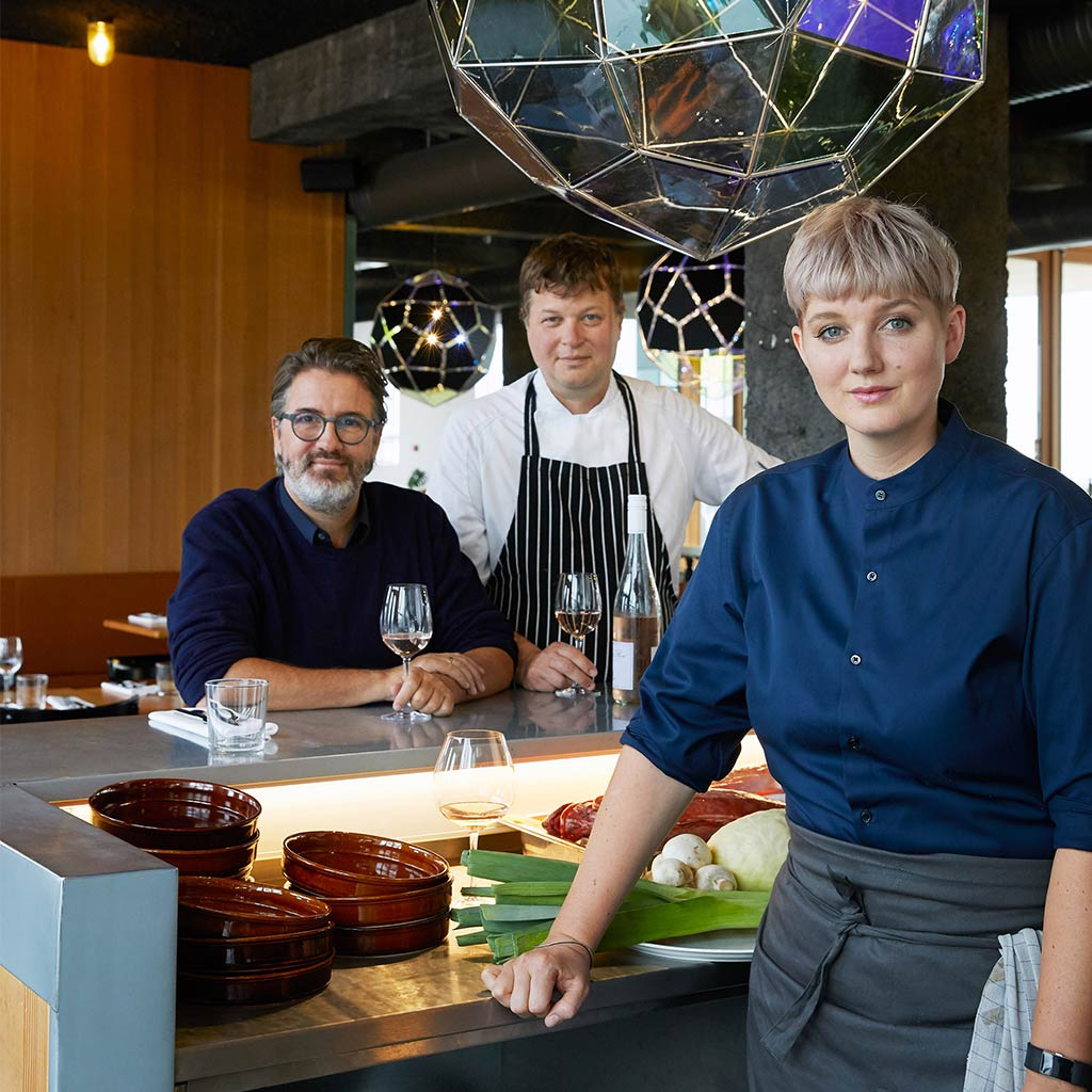 Eliasson Cooks Up a New Eatery in Iceland