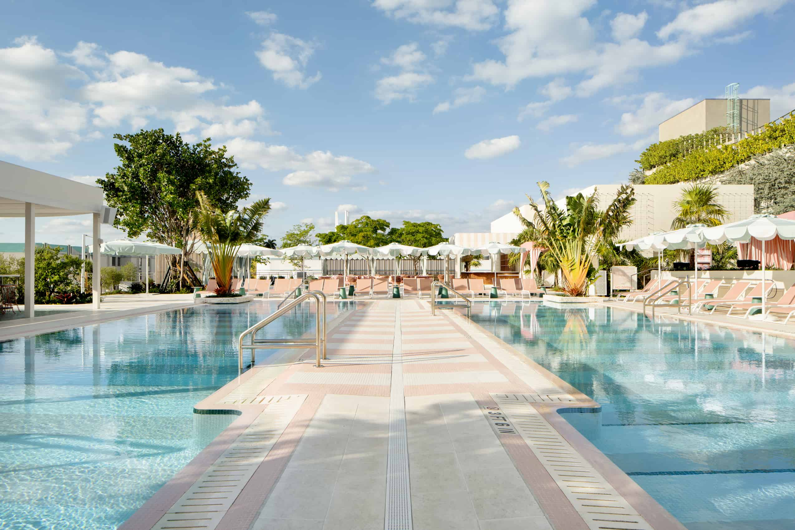 Pool deck at Good Time Hotel Miami