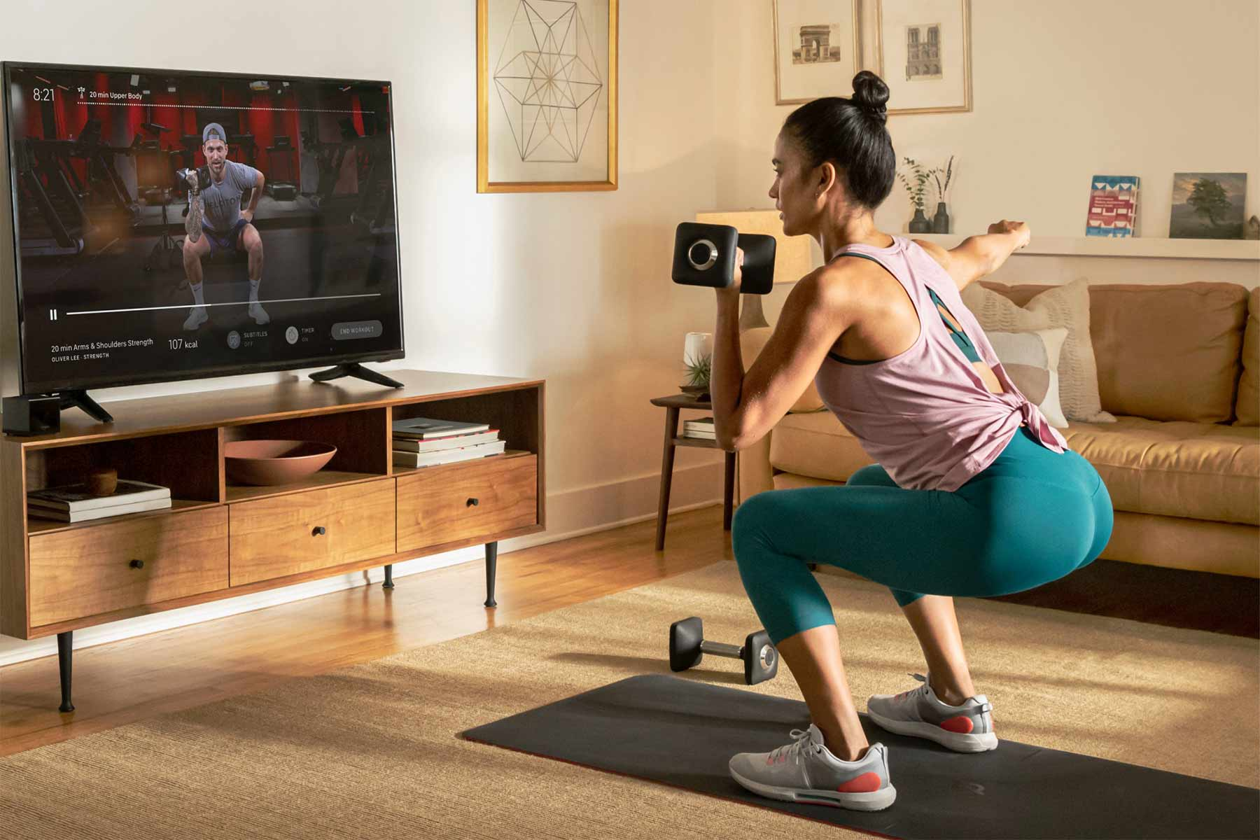 Peloton Home Workout