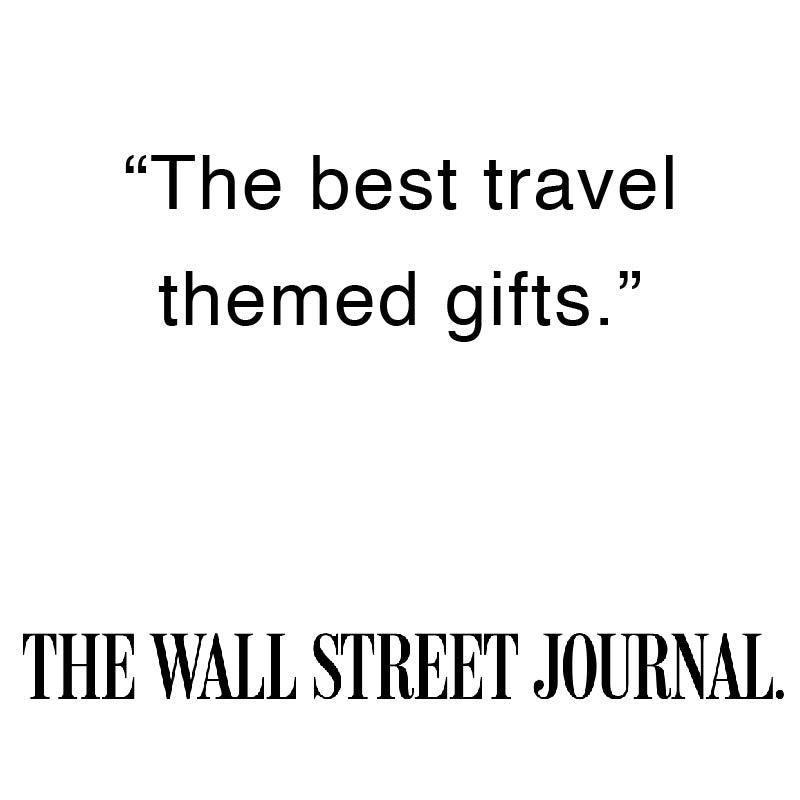 "Arlo Skye was featured in The Wall Street Journal.  Quote from the Wall Street Journal: ""Arlo Skye is included in a roundup of the best travel themed gifts."""
