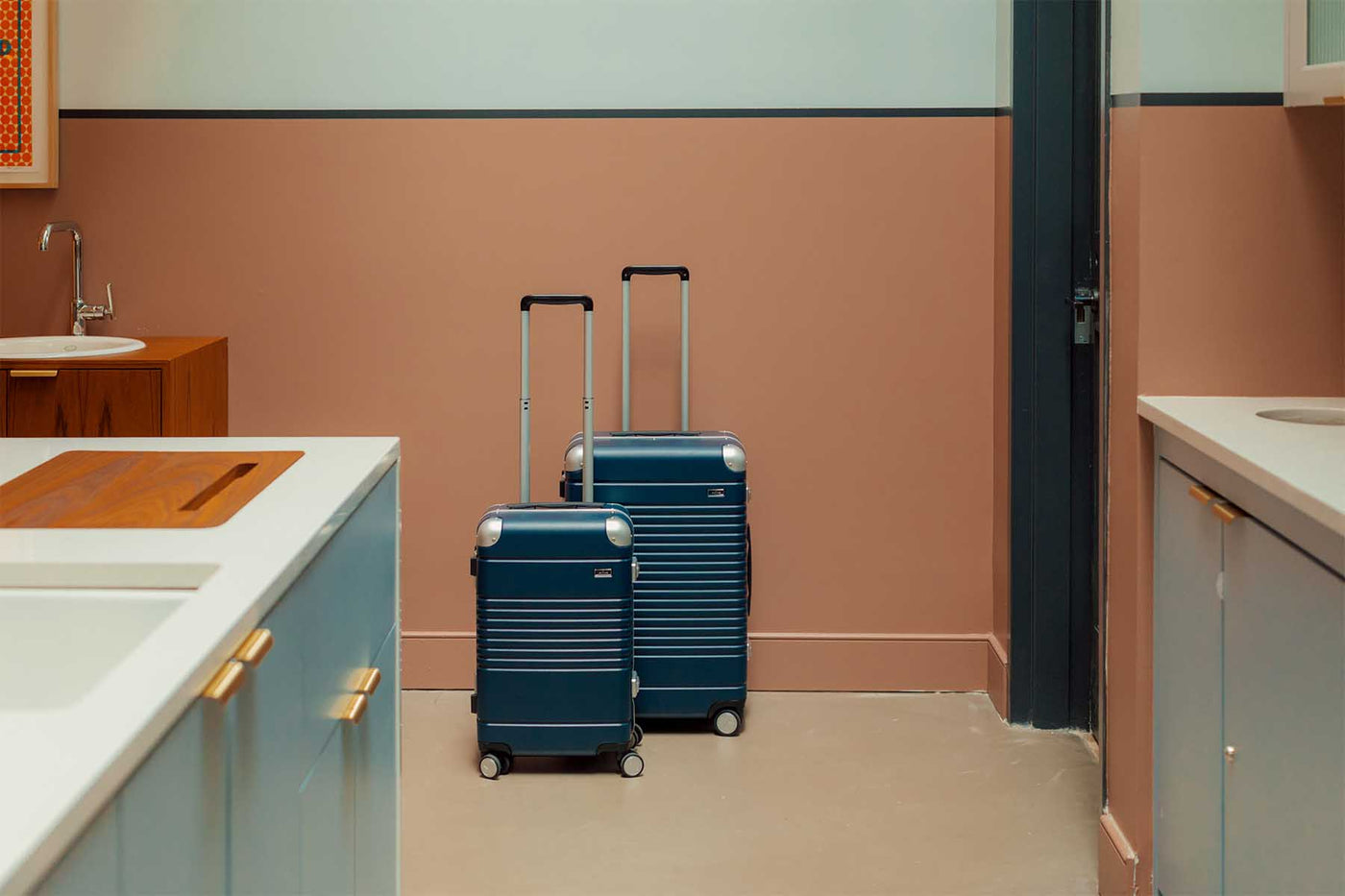 Luggage for the design-obsessed.