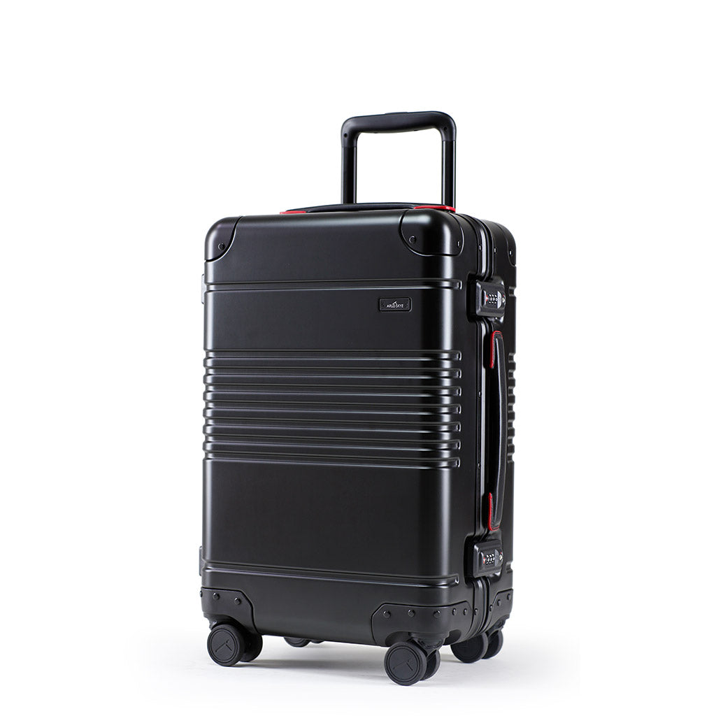 The Frame Carry-On: Aluminum Edition, exclusively designed for Audi