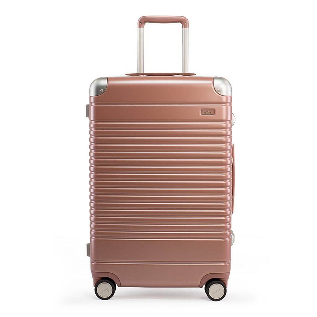 Arlo Skye Luggage Rose Gold The Polycarbonate Check-In