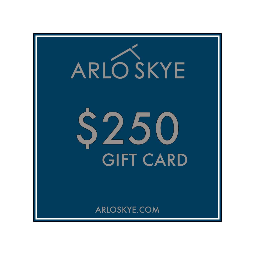 Digital Arlo Skye gift card for the amount of $250