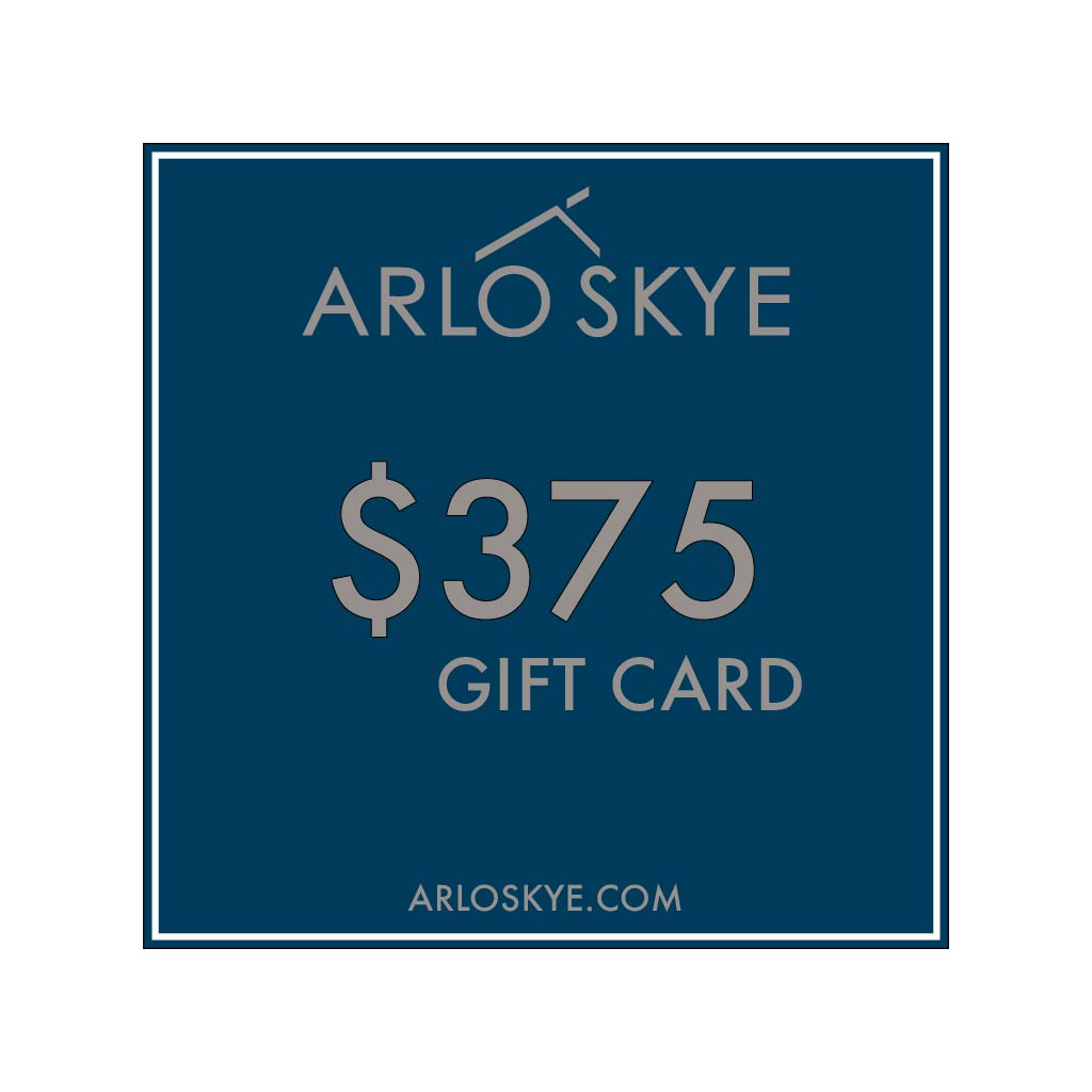 Digital Arlo Skye  gift card for the amount of $375