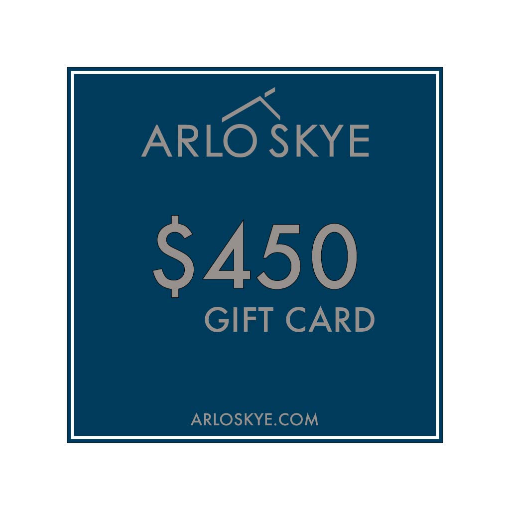 Digital Arlo Skye  gift card for the amount of $450