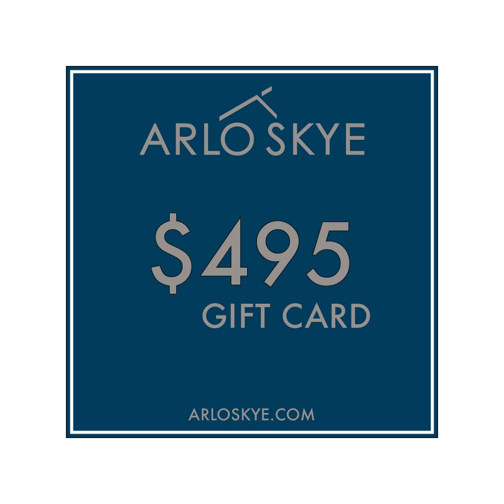 Digital Arlo Skye  gift card for the amount of $495