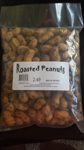 Roasted Peanuts 11oz.