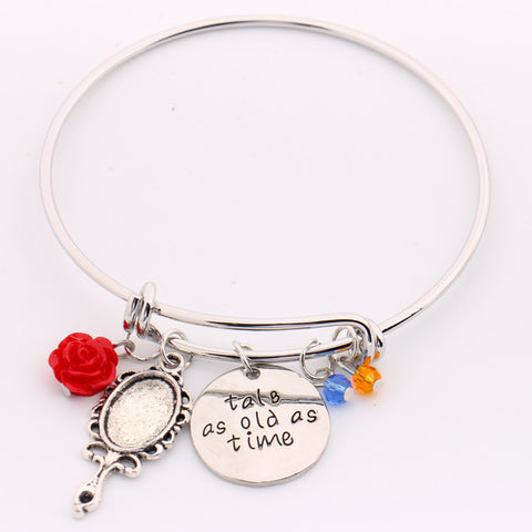 "Beauty And The Beast ""Tale As Old As Time"" Bracelet"