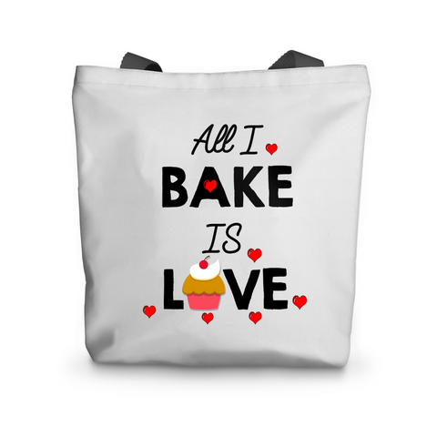 All I Bake Is Love Tote Bag