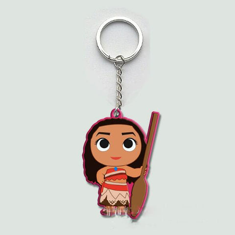 Disney Moana Figures Keyrings