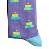 BIRTHDAY CAKE SOCKS