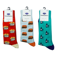 The Sophisticated Lunch - Toetally Delicious Socks