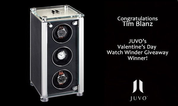 Juvo Luxury Valentine's Giveaway Winner