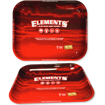 Element Papers Red Hemp Medium Rolling Tray