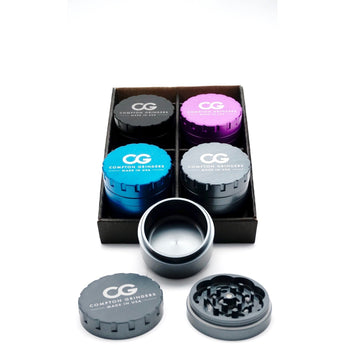 Compton Grinders 2.5in 3-Piece 4 Pack (Value Pack)