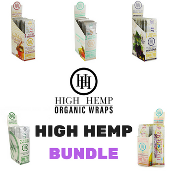 HH Wraps High Hemp Bundle (2) Of Each  Flavor
