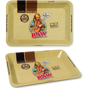 Raw Girl Mini Tray