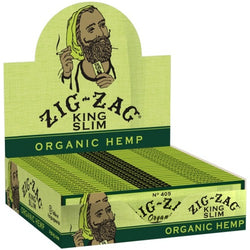 Zig-Zag ORGANIC HEMP KING SIZE ROLLING PAPERS